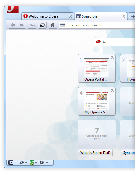 Opera 10.5 Web browser